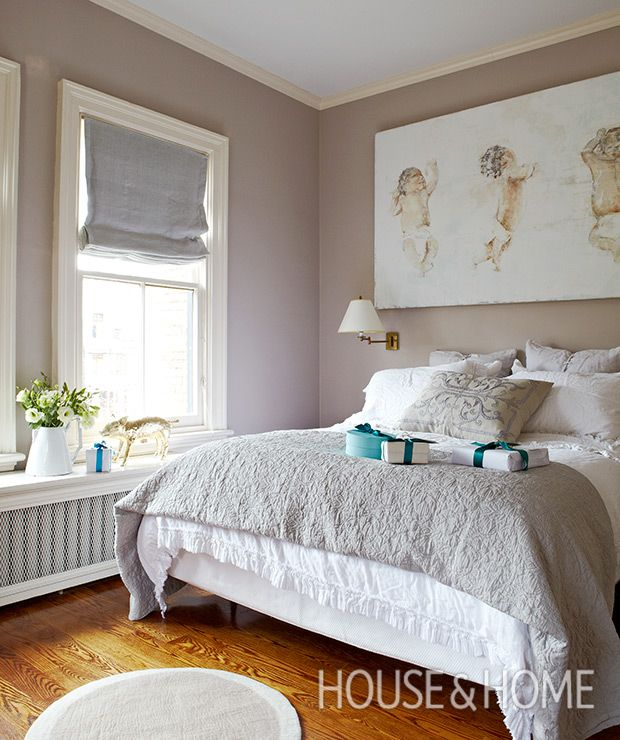 Silver Accent Wall Bedroom Bedroom Colors Brown Furniture Bedroom Furniture Paint Traditional Master Bedroom Decorating Ideas: How To Decorate With Sherwin-Williams' Poised Taupe In
