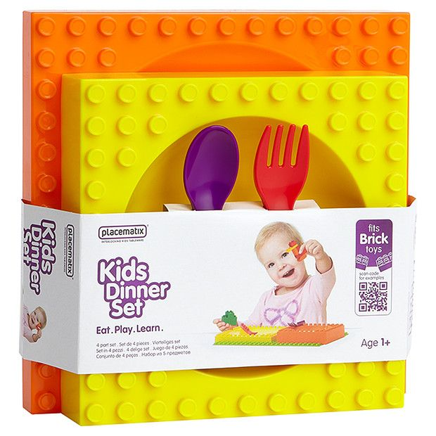 Placematix 4 Piece Kids Dinner Set Kids Dinner Sets Dinners For Kids Dinner Sets