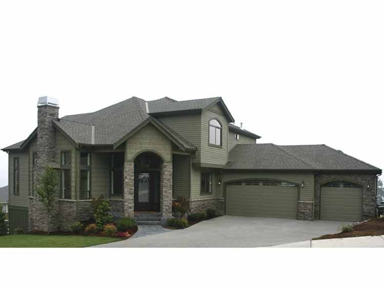 Eplans Contemporary-Modern House Plan - Beautifully Columned NW