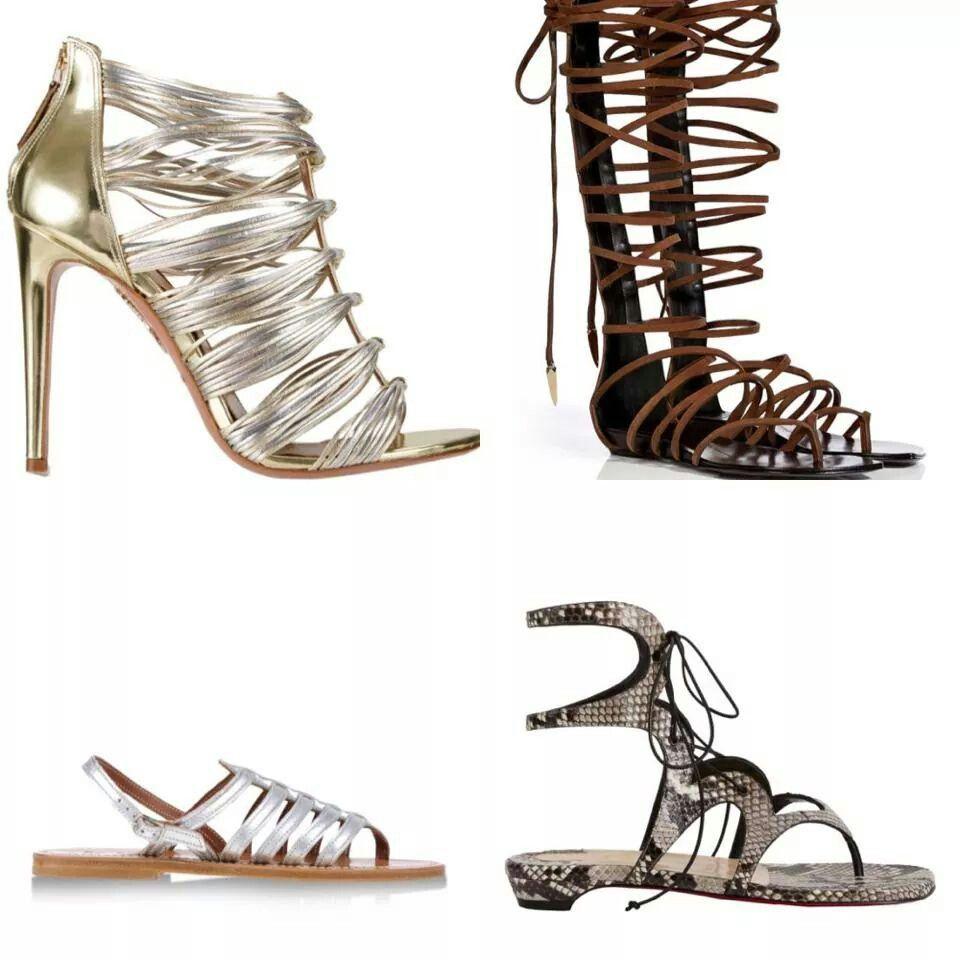 Sandalias de Moda del Verano 2014.