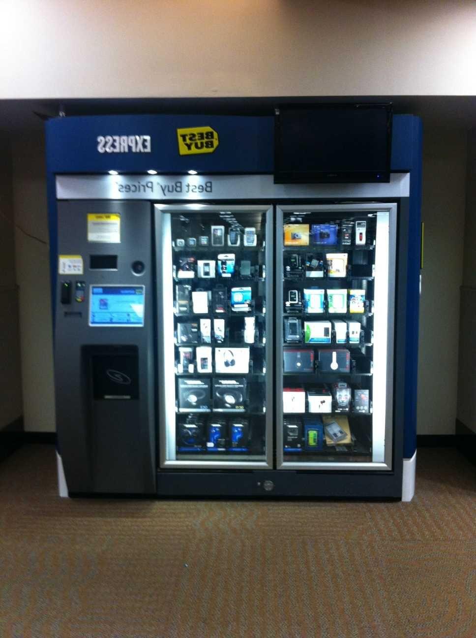 Best Buy Tech Vending Machine Minneapolis Airport Engagement At Coffee Vending Machines Vending Machine Vending Machines For Sale