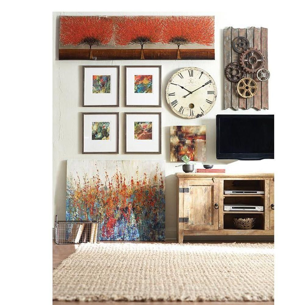 Home decorators collection holbrook natural reclaimed entertainment