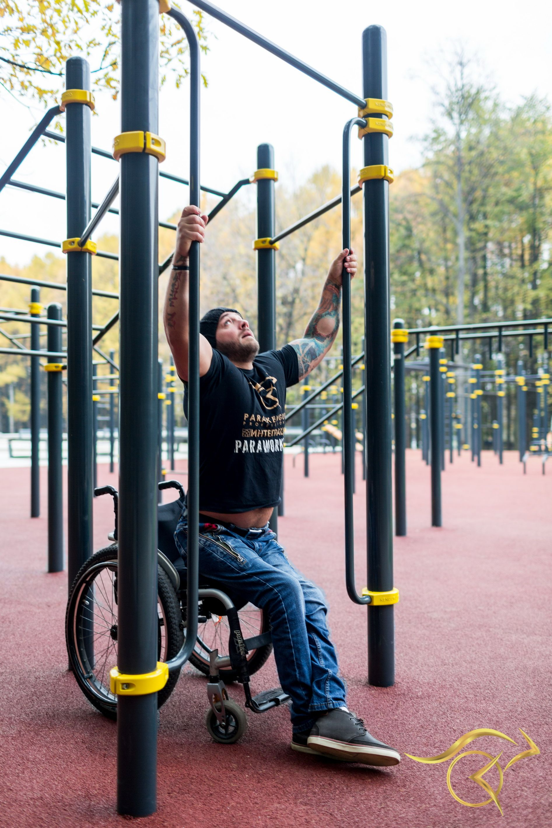 Outdoor Workout Equipment For People With Disabilities Outdoor Gym Equipment Outdoor Gym Street Workout