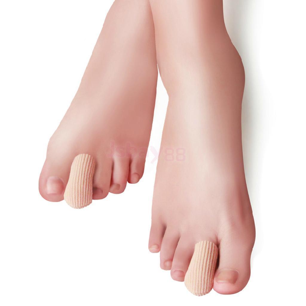 PCs Footful Tube Gel Bandage Toe Finger Caps Sore Foot Corn Bunions