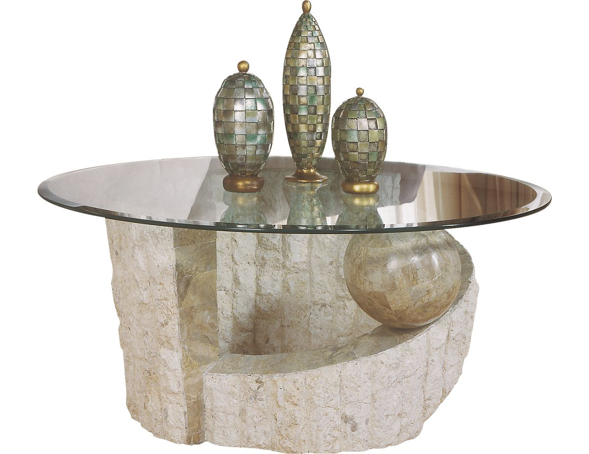 Fossil Round Cocktail Table 58506 58506pk The Brick Coffee