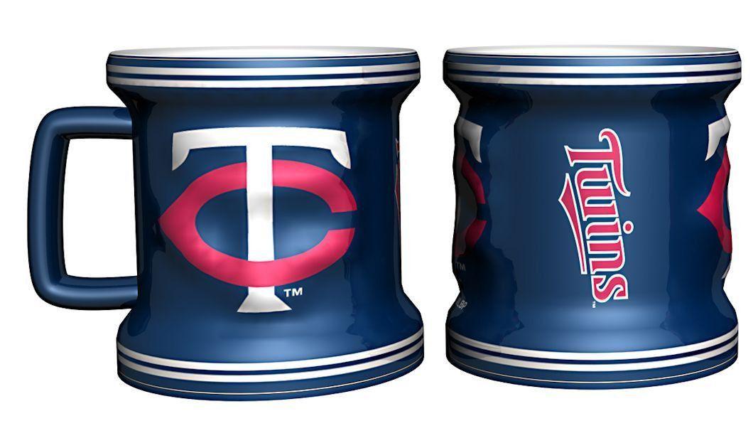 Minnesota Twins Sculpted Mini Mug Shot Glass