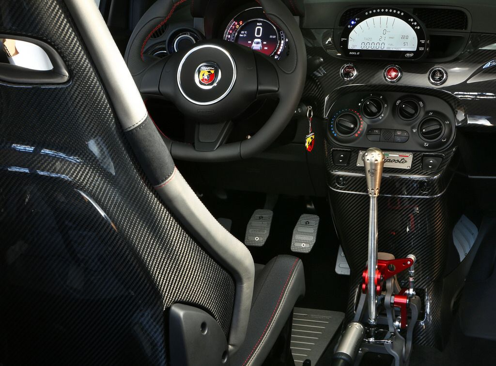 Fiat 500 Abarth Interior Fiat 500 Fiat Abarth New Fiat