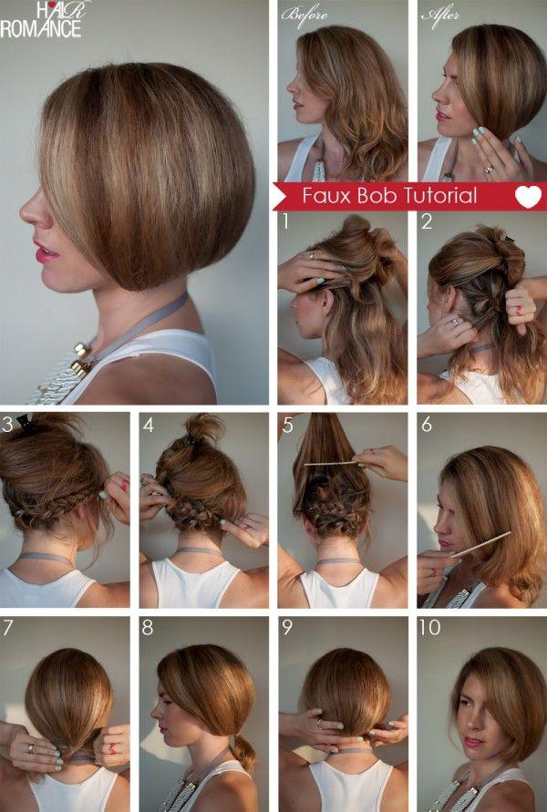 Taglio capelli medio lunghi con frangia
