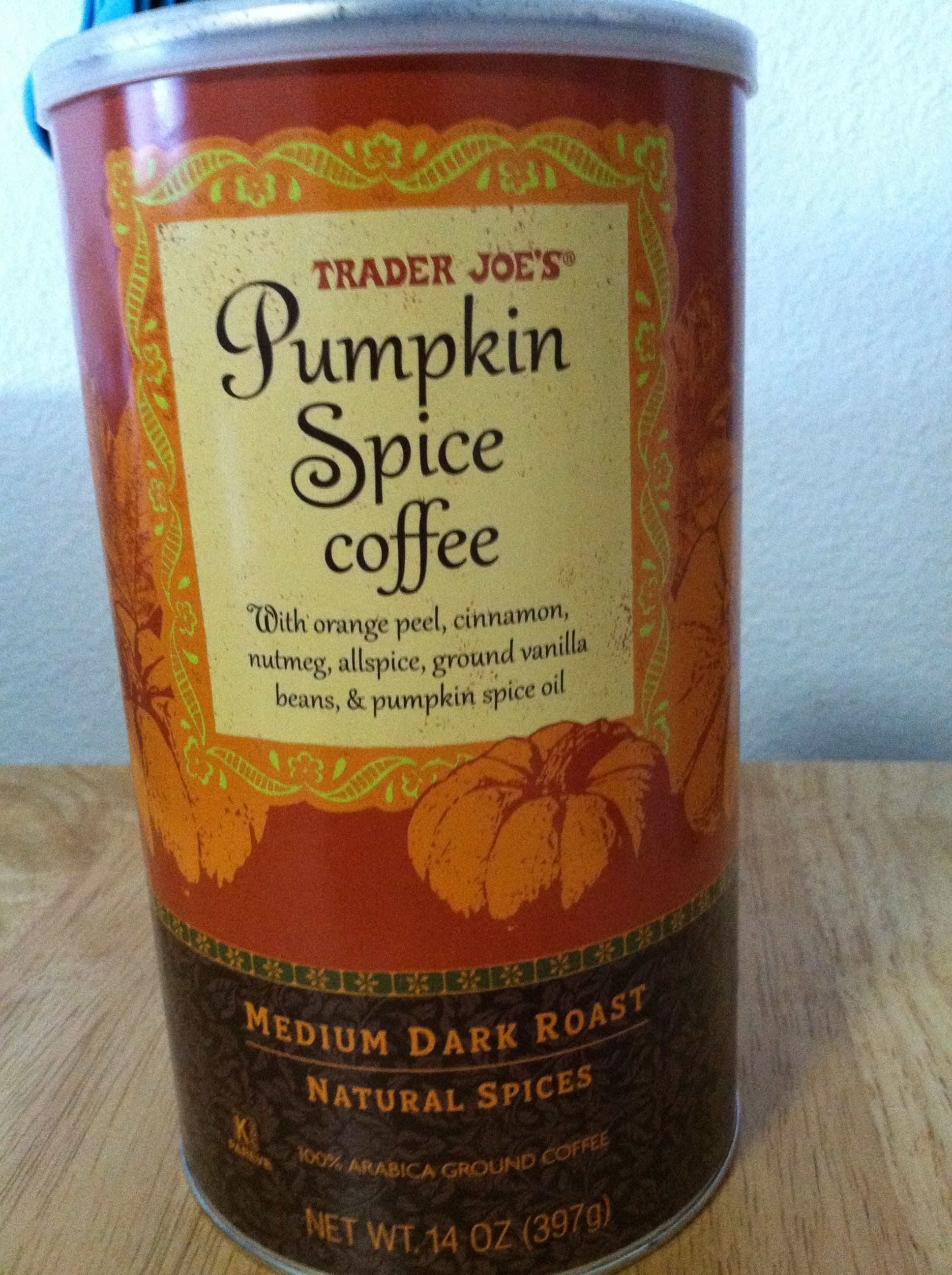 Best coffee for fall! Found this at trader joes