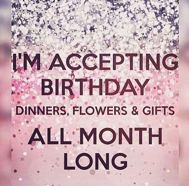 Its My Birthday Month, Birthday Month