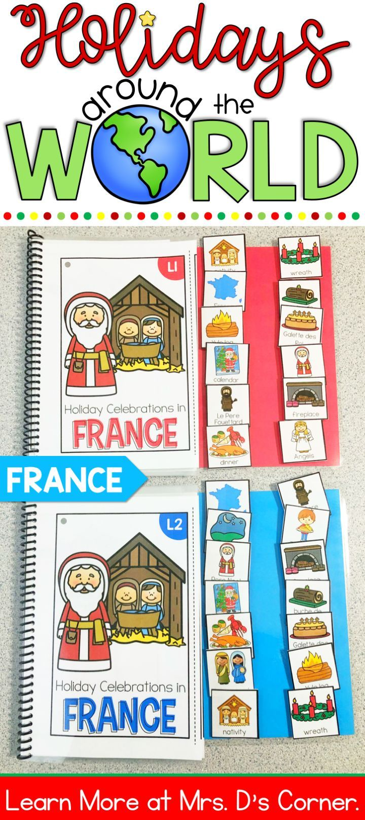 Christmas in France Adapted Books Christmas Around the