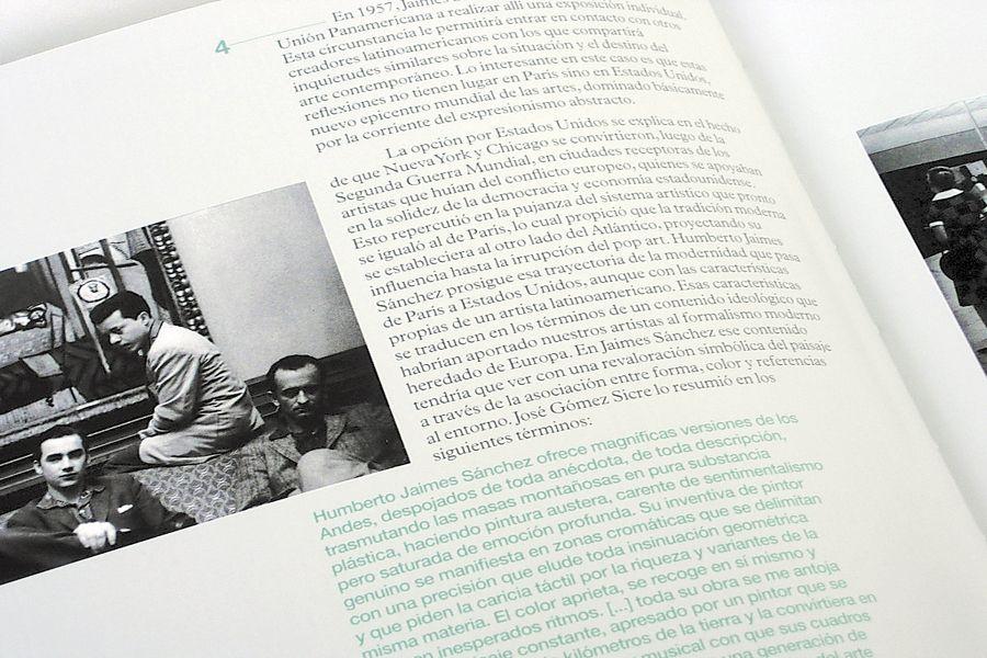 Humberto Jaimes Sanchez Exhibition Catalogue at FIA Design by Fonte.