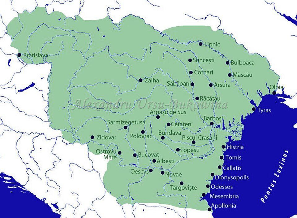 Dacia Regelui Decebal History Of Romania History Geography History