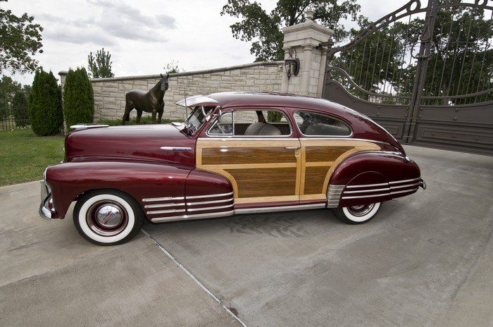 1948 Chevrolet Fleetline Woodie Aerosedan With Images Woodies