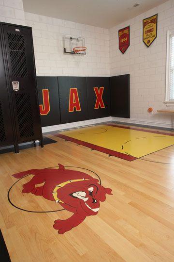 Chambre De Basketball Cool Basketball Chambre Basketball Bedroom Basketball Room Sport Bedroom