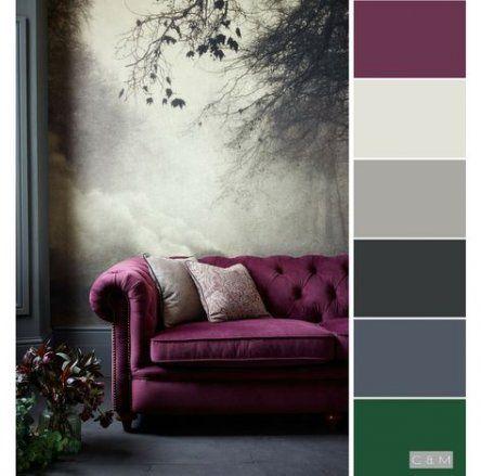Living Room Blue Grey Colour Palettes 59 Ideas -   16 room decor Purple blue ideas