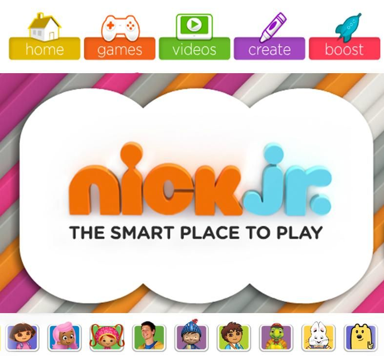 Nickjr com play to learn