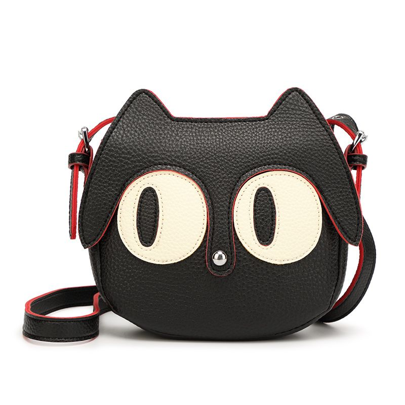 Women messenger bag Fashion new Shoulder Crossbody Bags women Handbag  cartoon cat ladies casual small bags 908524d1ce