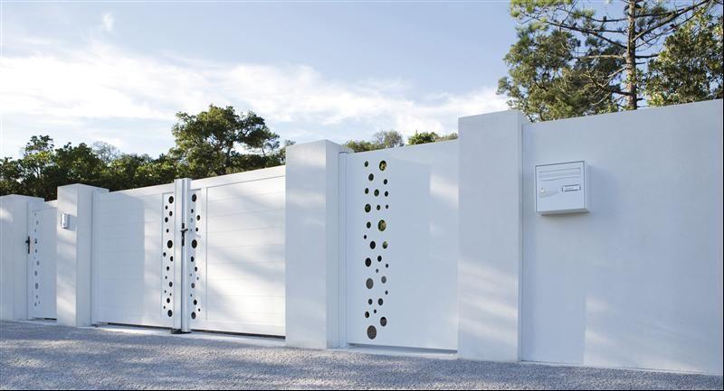 Epingle Par Nisrine Sabouni Sur Porte Cloture Terrasse Jardin Portail Cloture Pvc