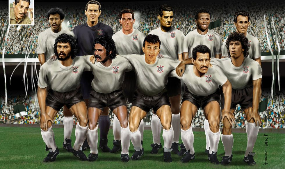 "Sport Club Corinthians Paulista ""The Dream Team"" Time"