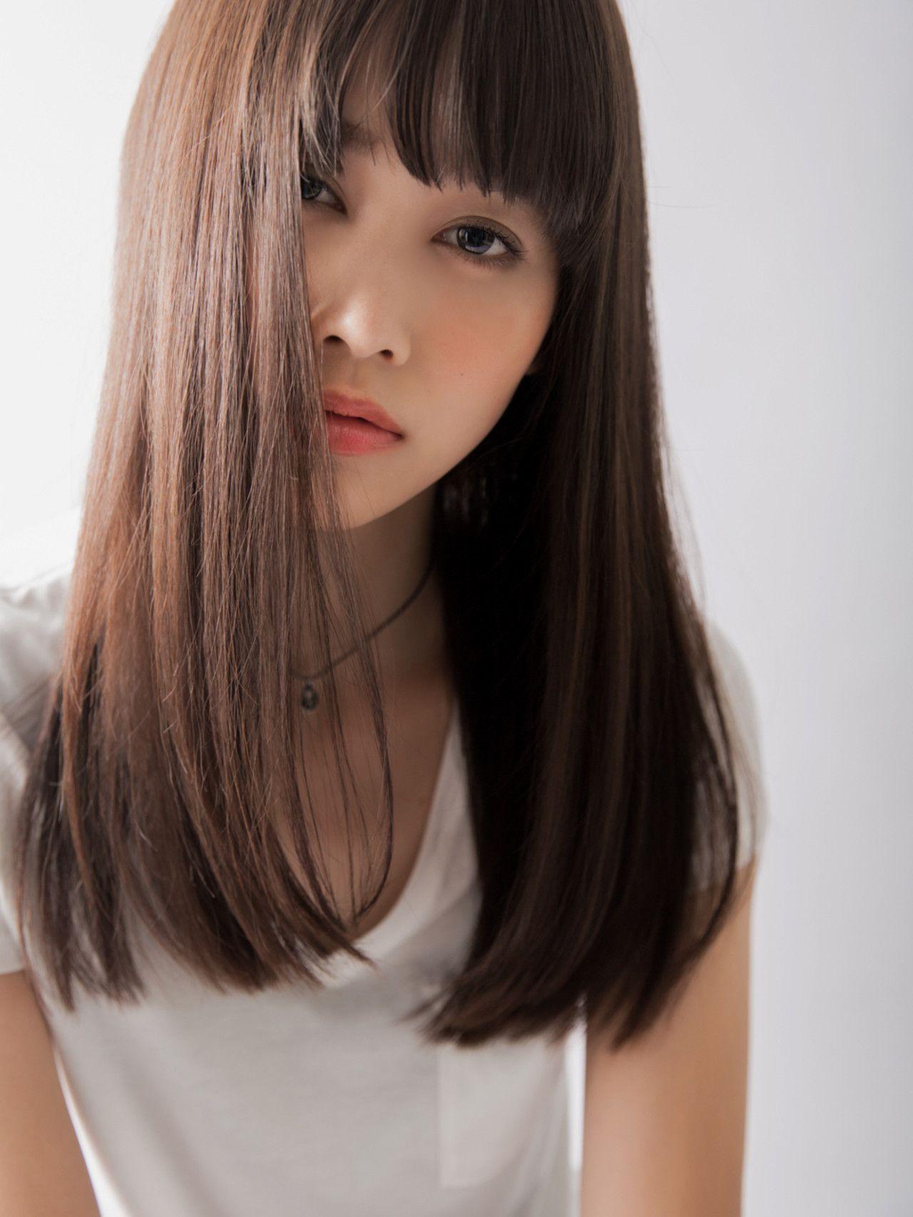 アラサーの魅力を倍増 大人のセミロングヘアカタログ ロングヘア 前髪 ロング ミディアムロング