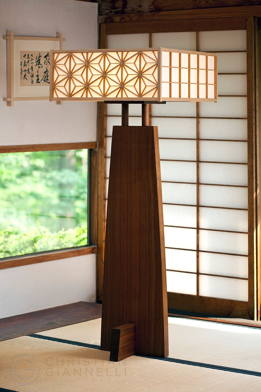 Nakashima Asa-No-Ha Floor Lamp