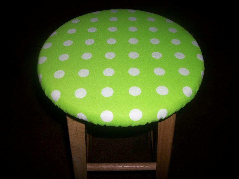 Lime Green Polka Dot Chevron Fabric 13\