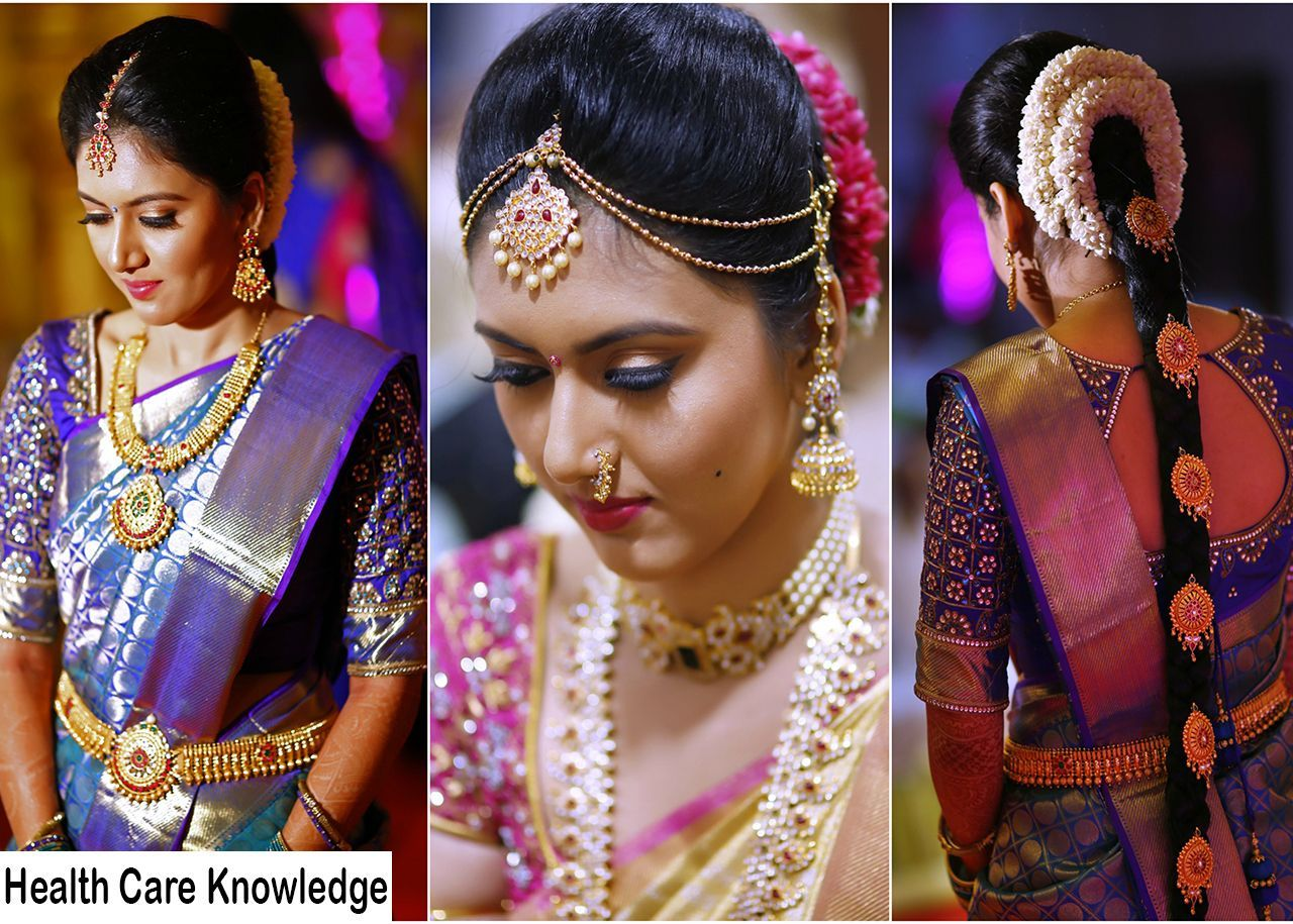 south indian bridal makeup step by step in hindi