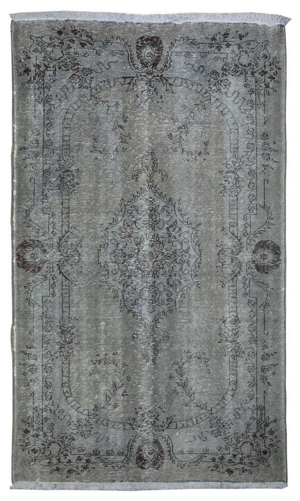 Gray Overdyed Rug Grey Carpet Rugs Overdyed Rugs