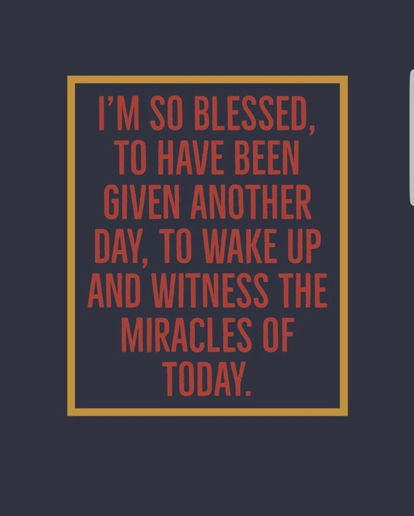 Blessedone Another day quote