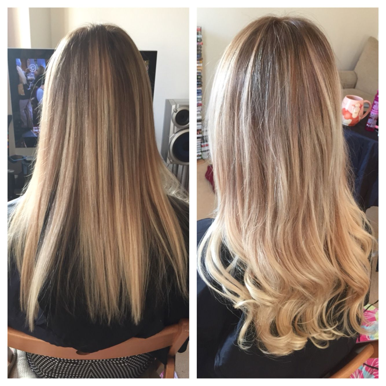 All over damaged brassy blonde to ombre we added 50 balmain pre all over damaged brassy blonde to ombre we added 50 balmain pre bonded extensions to pmusecretfo Gallery