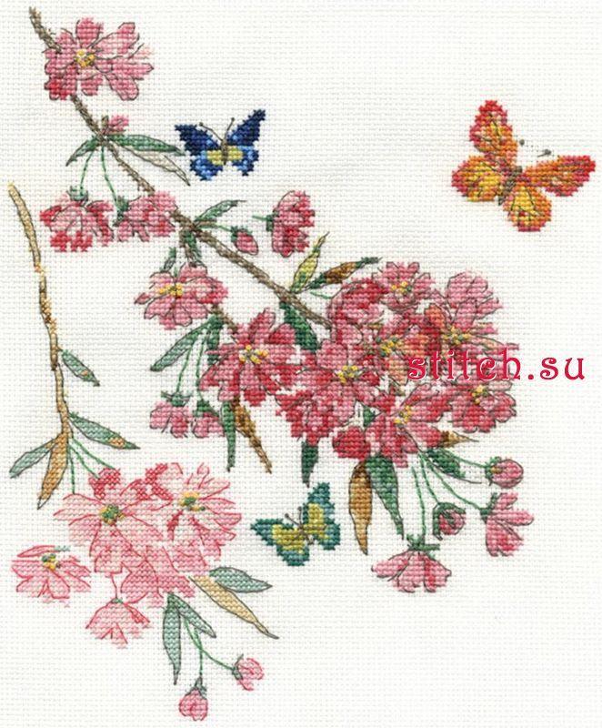 Набор для вышивания DMC BK1445 (большая картинка)  d0c42ef542b9e