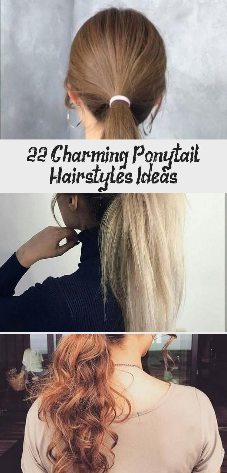 Photo of 22+ Charming Ponytail Hairstyles Ideas – Galafashion / Women Outfits –  What You…
