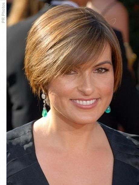 Short Hairstyles For Round Faces And Thick Hair Hairstyle