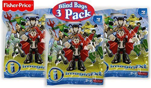Fisher-Price Imaginext Blind Mystery Bags Series 3 Collectible Mini Figures - 3 #FisherPrice