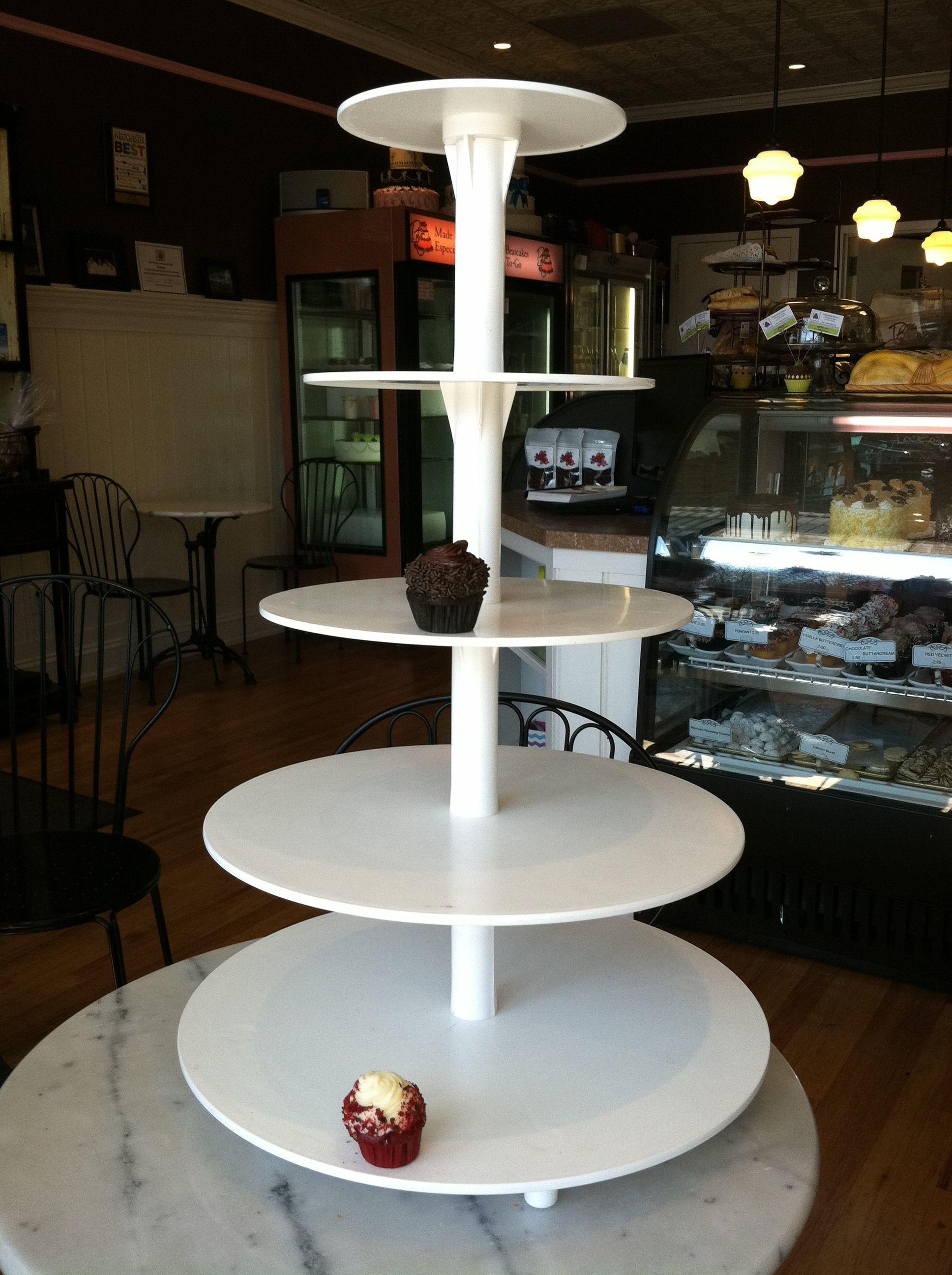 Cupcake tiered wedding cake stand!
