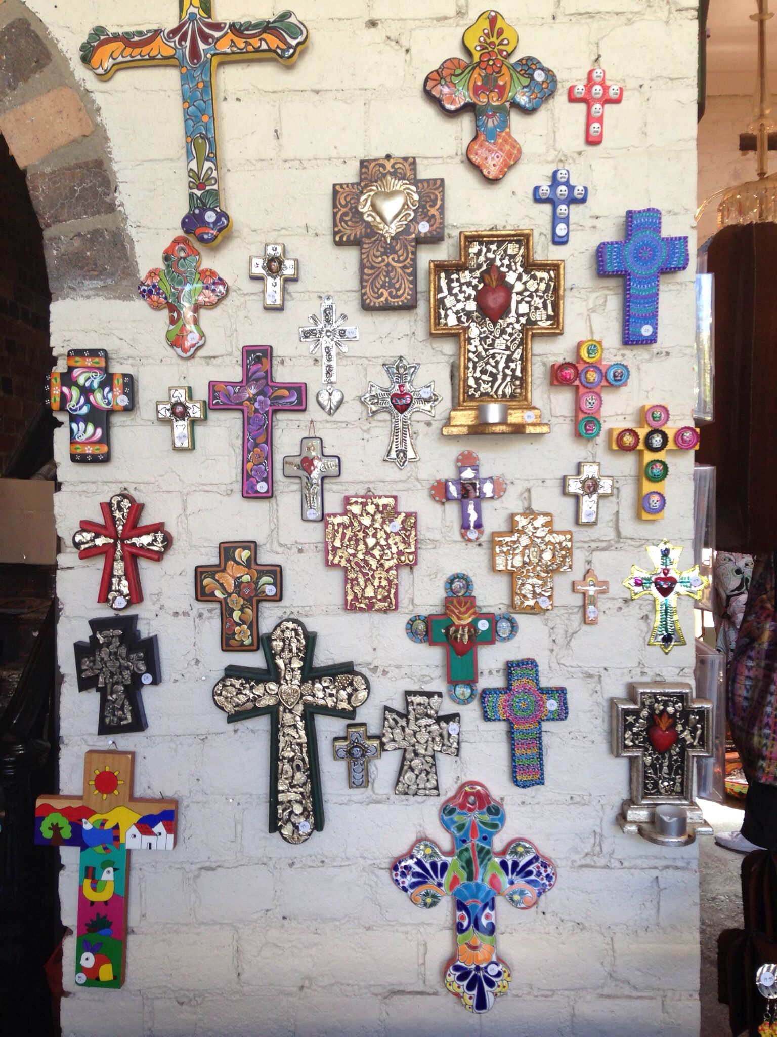 Mexican crosses... | crosses | Pinterest | Mexicans, Cross walls ...