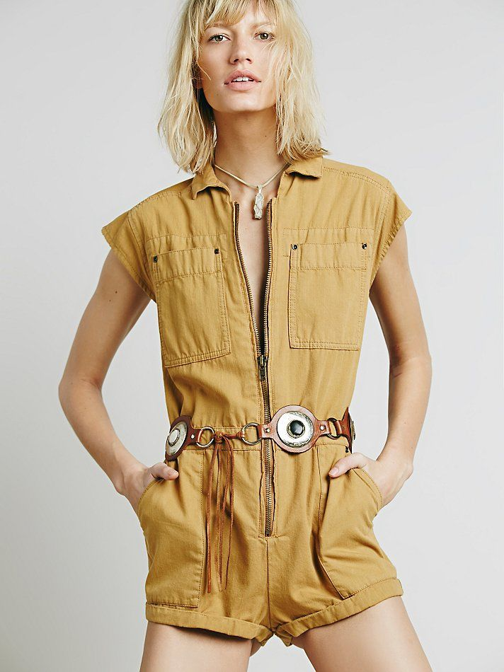 3fcc45a8e6f Free People Paracute Brief Romper at Free People Clothing Boutique ...