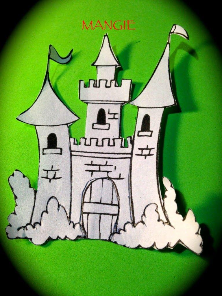 Plantilla castillo | Edat mitjana | Pinterest | Goma eva, Castillos ...