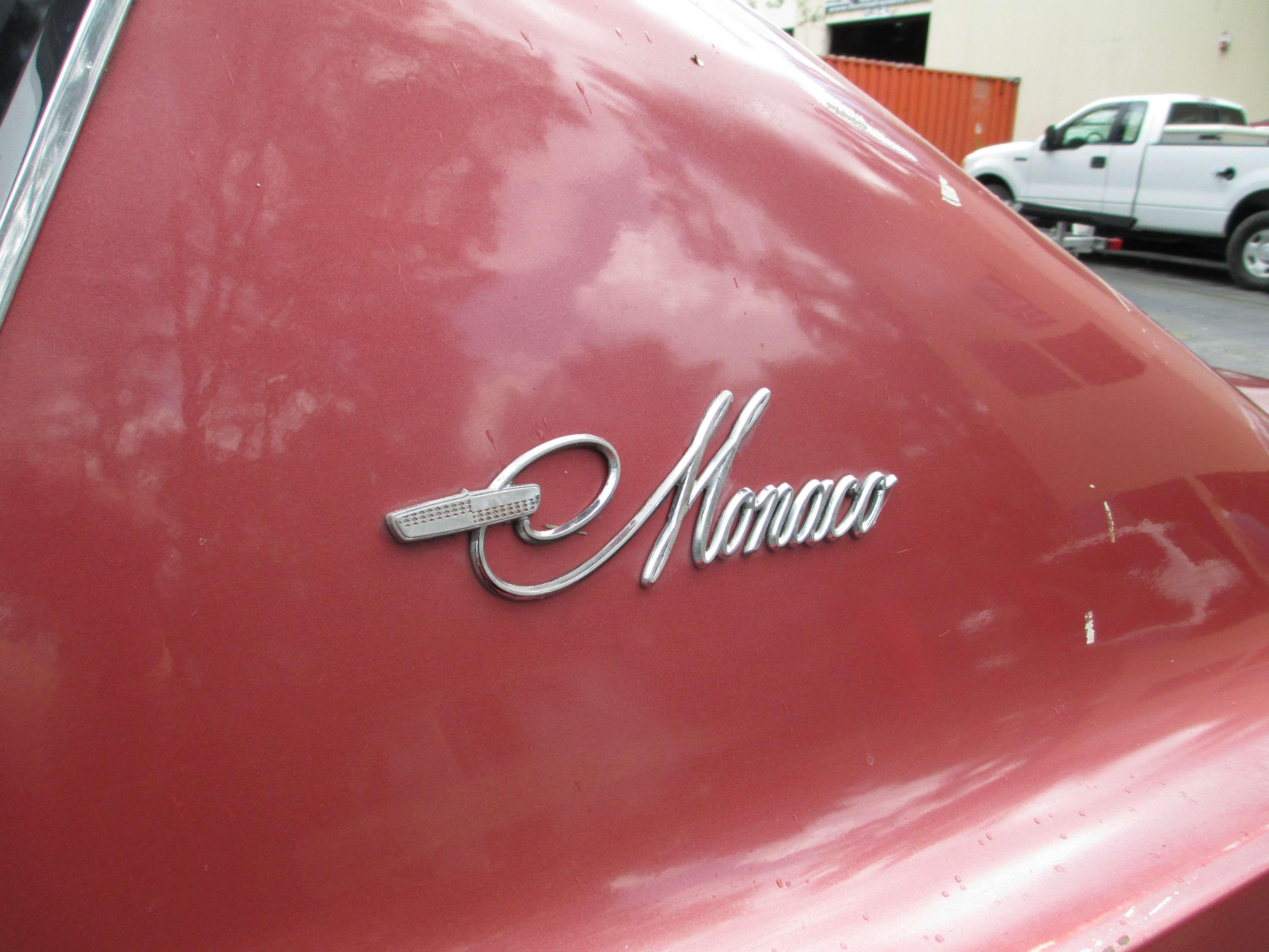 Used 1967 Dodge Monaco for Sale ($5,900) at Miami, FL | Used