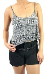 Cropped Tribal Cami | Fashion Q 1982