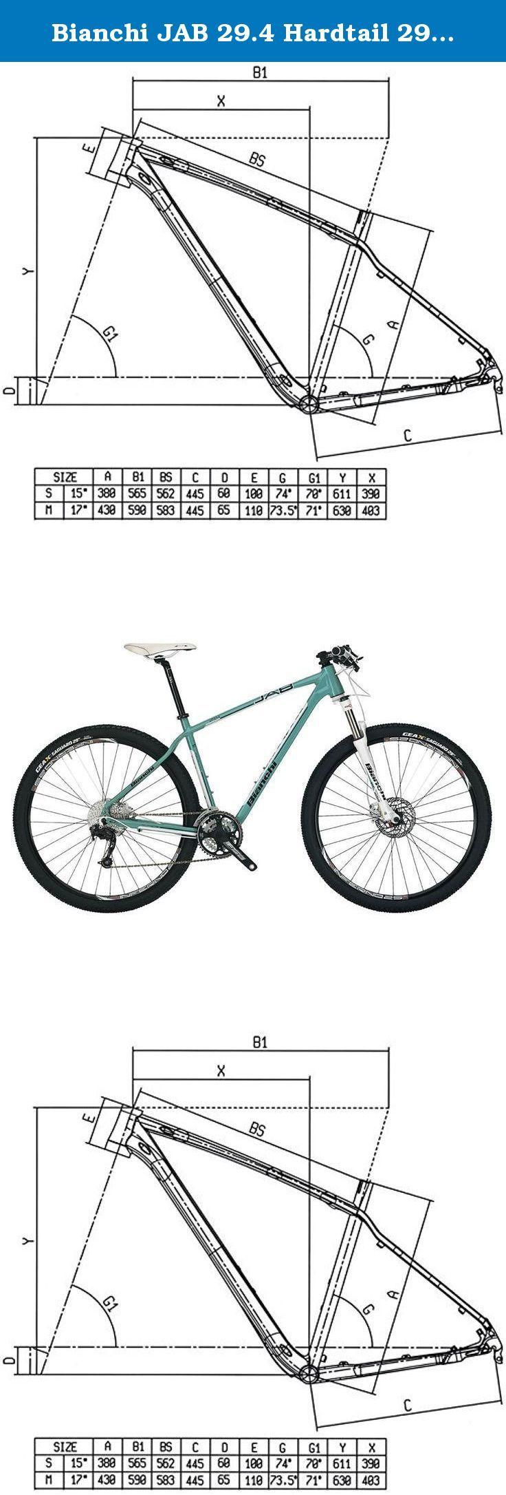 Bianchi Jab 29 4 Hardtail 29er Mountain Bike Size 43cm 17 The