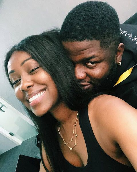 Skales And His New Girlfriend All Loved Up Photo Naijaonly