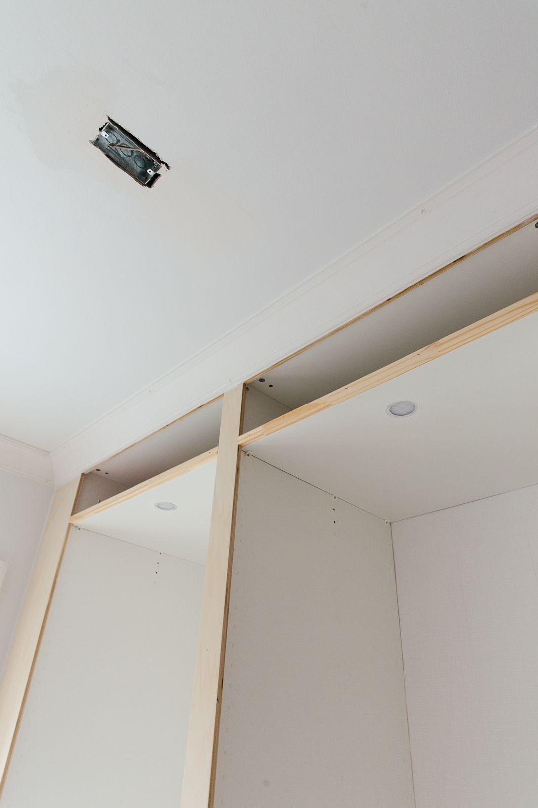 Hacking The Ikea Pax Into A Fully Custom Closet Pax Garderobe Schrank Wohnen