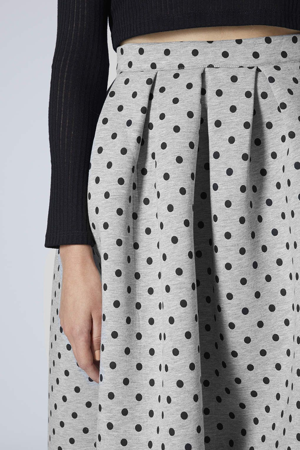 Photo 5 of Spotty Scuba Midi Skirt