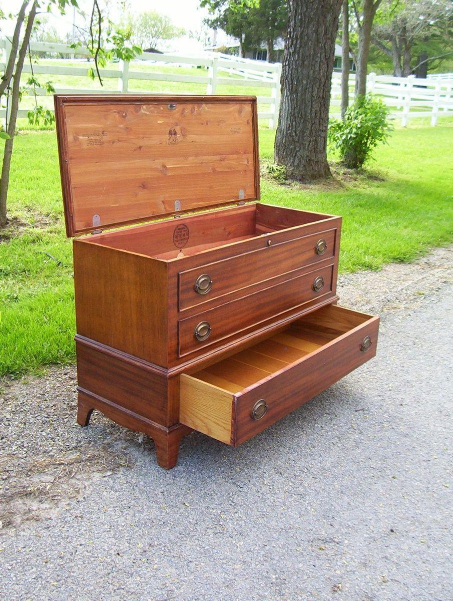 Antique lane cedar blanket chest best