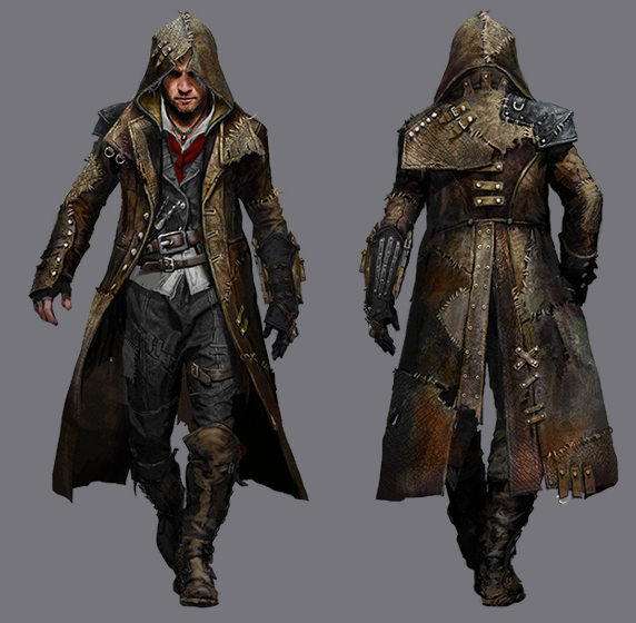 Jacob In The Creature S Rags Assassins Creed Artwork Assassins
