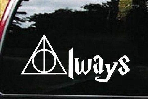 Always Harry Potter car Decal sticker by StickerGarage on Etsy