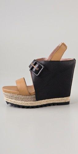 Rebecca Minkoff Marie Platform Wedge Heels | eBay $100