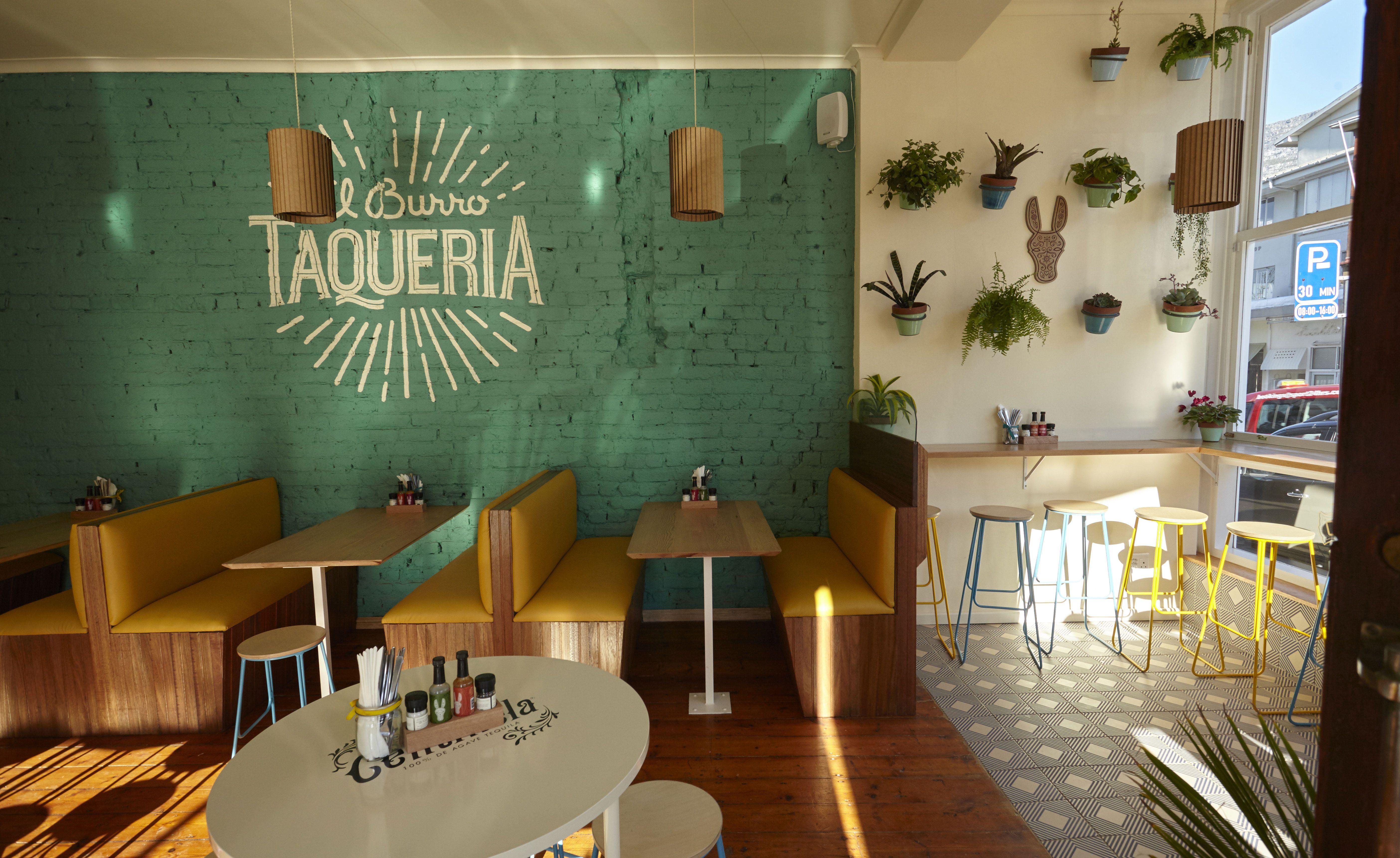 El Burro Taqueria Cape Town South Africa Burritos Restaurante  # Muebles Para Taqueria